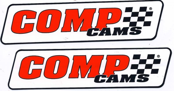 Comp Cams Racing Decals Stickers  Inches Long Paired - Racing decals