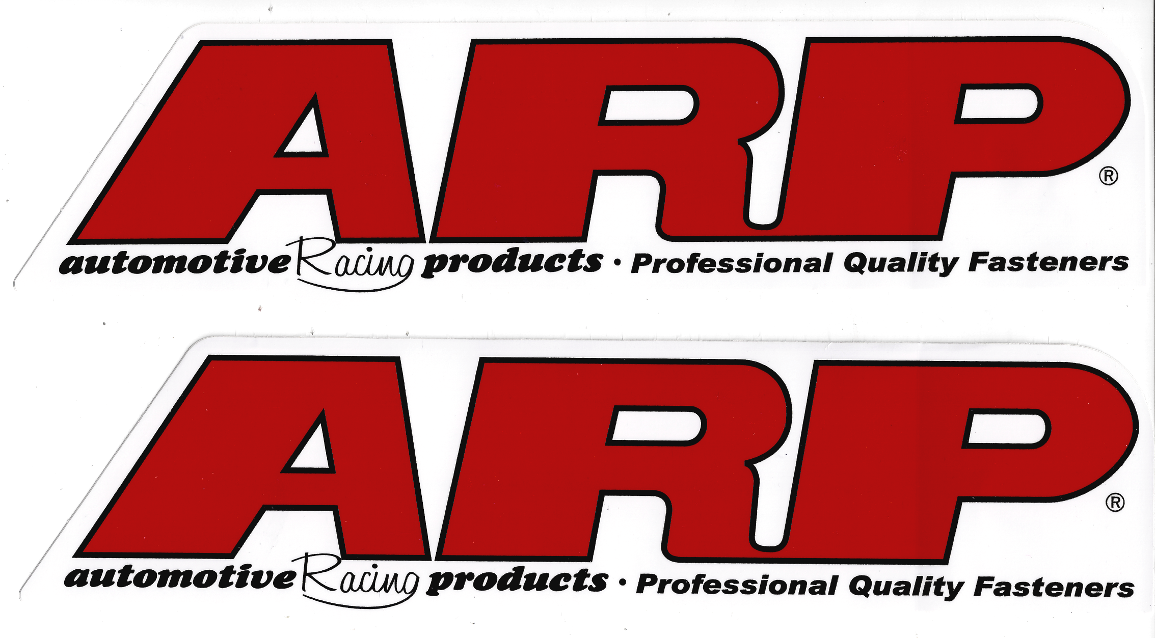 ARP Racing Stickers Decal  Inches Long CrashDaddy Racing Decals - Racing decals