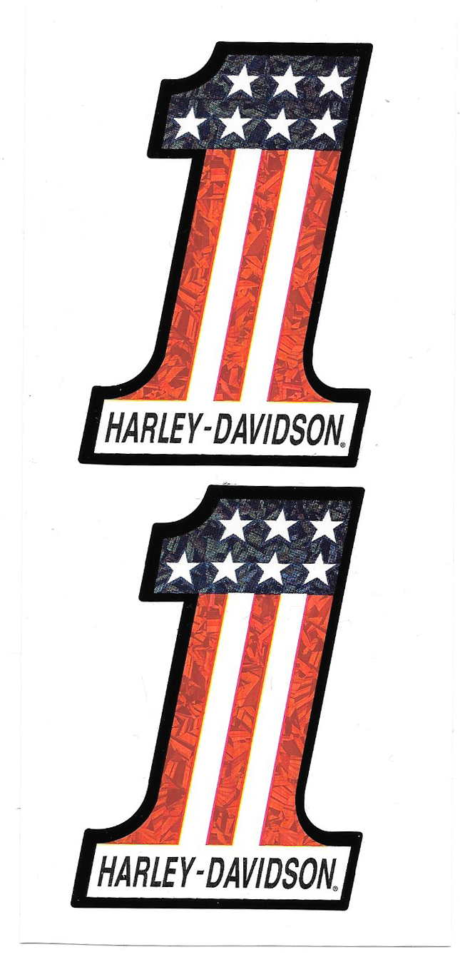 harley davidson 1 american flag decal crashdaddy racing decals rh crashdaddyracingdecals com harley number one logo harley davidson one logo meaning