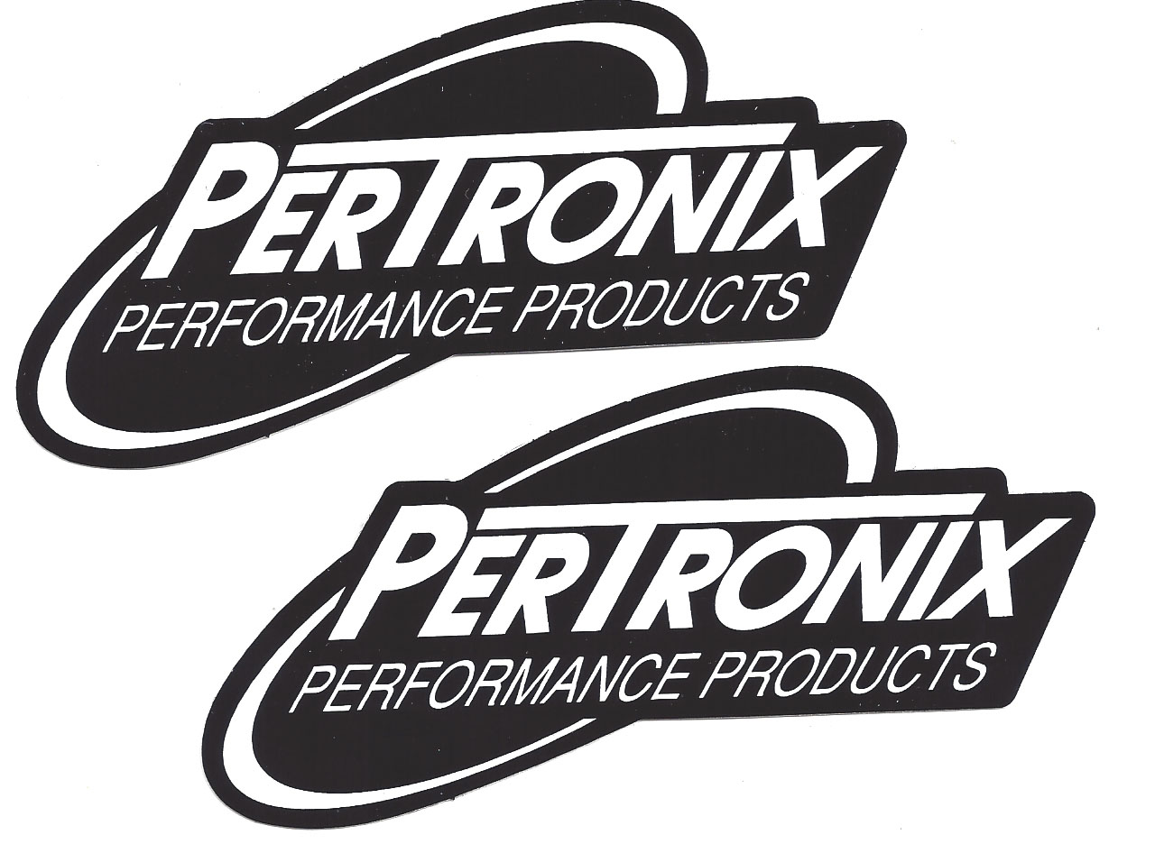 Pertronix racing decals stickers