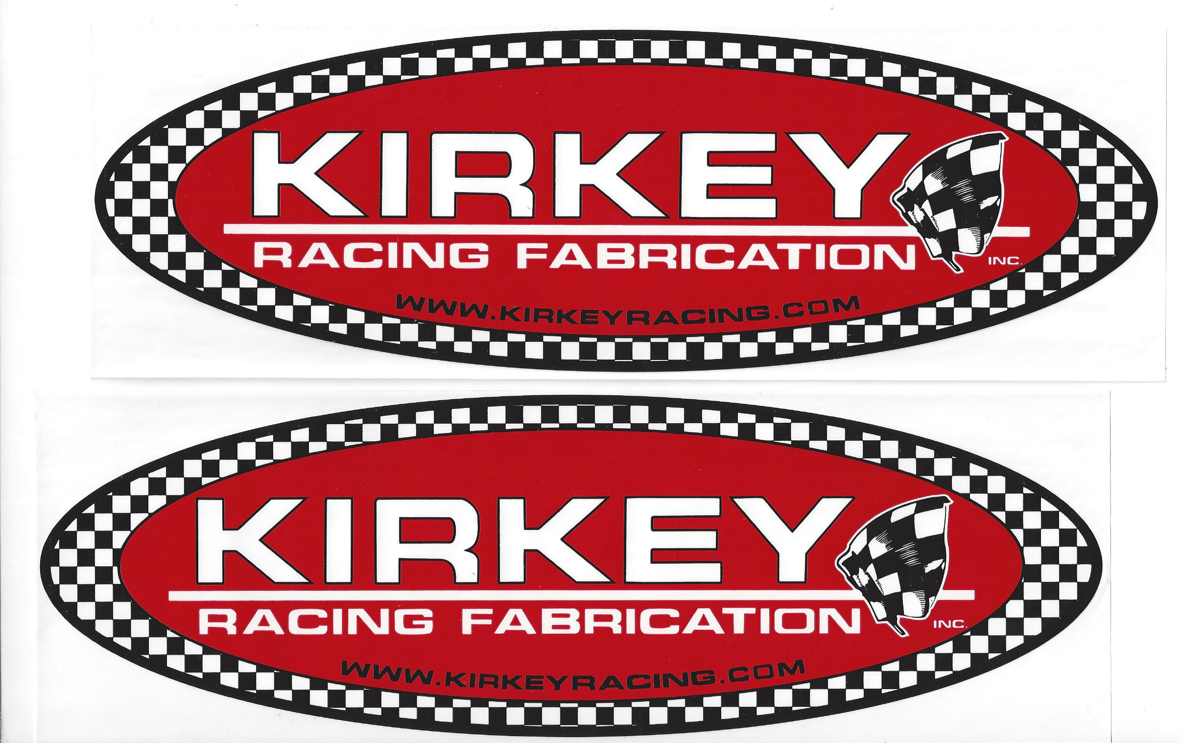 Kirkey Racing Decals Stickers  Inches Paired CrashDaddy Racing - Racing decals