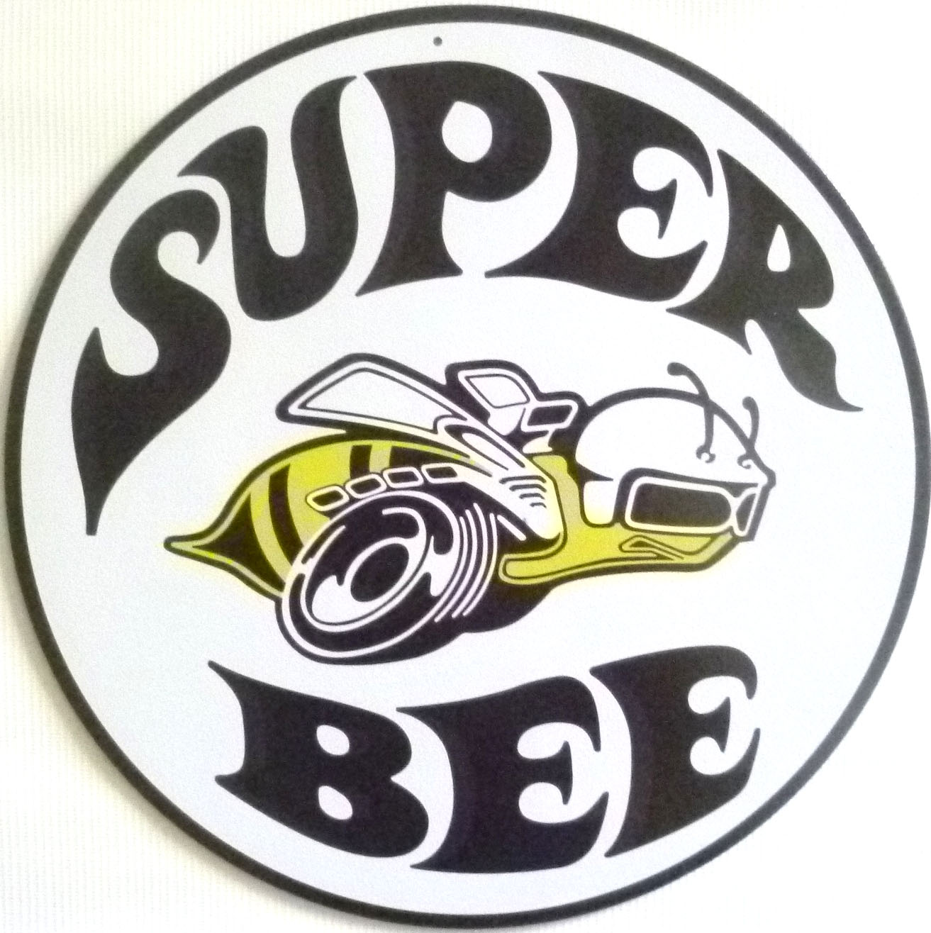 Dodge Super Bee Logo Metal Sign Nostalgia   CrashDaddy ...