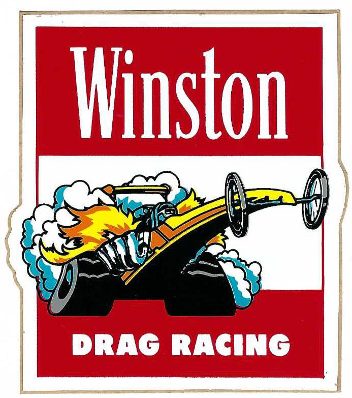 Hot Rod Vintage 1960s J-Wax Decal Drag Racing